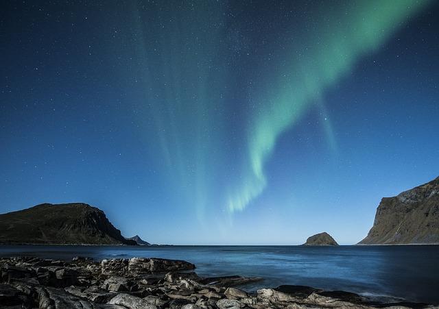Aurora Borealis Lofoten Northern Lights Norway